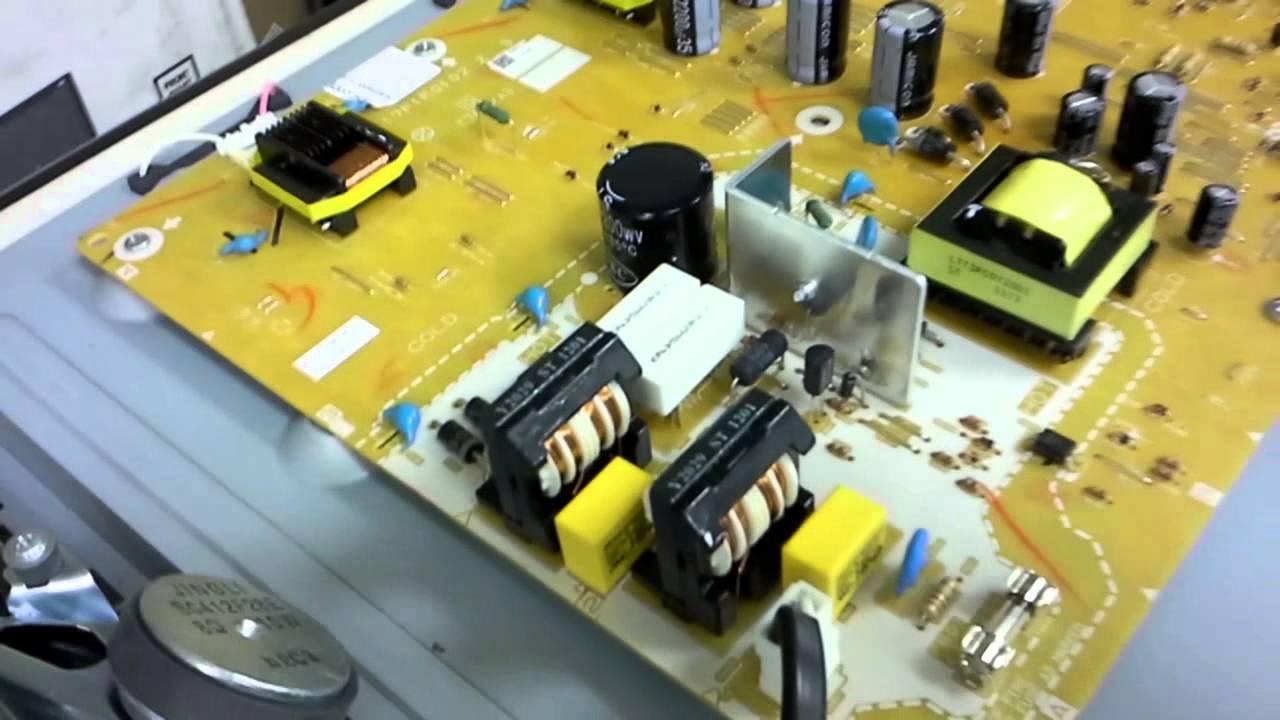Repair Emerson Lc320em2 Power Board Ba17f1f0102 Z 3 For Dead Tv Schematics Problem