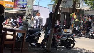 Как Въетнамцы бьют женщин прямо на улице. How Vietnam men beat women on streets