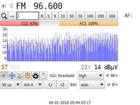 DXFM SRo 1 Rádio Slovensko Kosice in Craiova RO