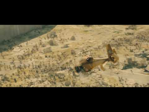 World War Z 2013   All zombie waves  Only Action 1080p