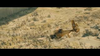 World War Z (2013) -  All zombie waves - Only Action [1080p]