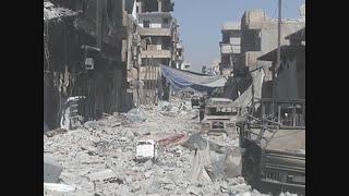 Drone Video Shows Devastation in Raqqa