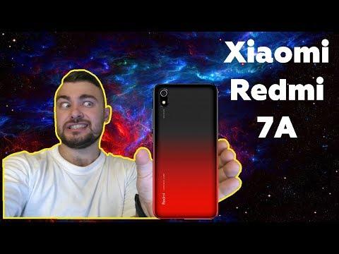 Распаковка Xiaomi Redmi 7A