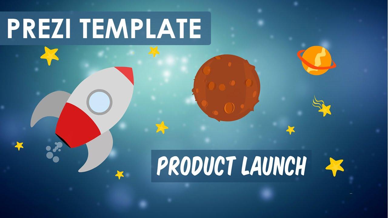 Product Launch - Prezi Template