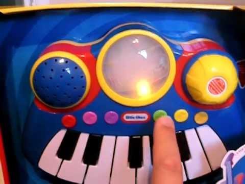 AMAZING LITTLE TIKES POP TUNES KEYBOARD TOY + LIGHTS & SOUNDS PRESCHOOL