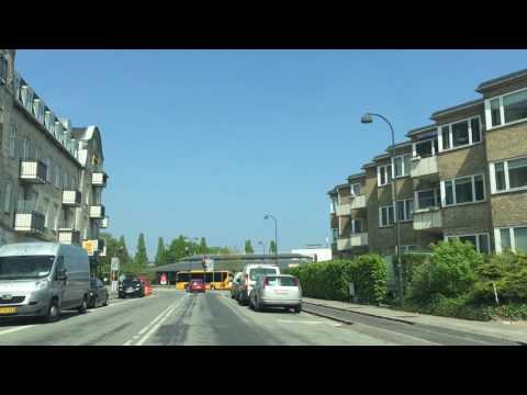 Driving in my hood: from Rådvad Kro home to Hellerup, Copenhagen
