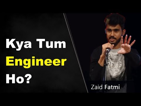 Best Standup Comedy on Engineering by Zaid Fatmi |Comedy Video | Funny Video Video on Engineering