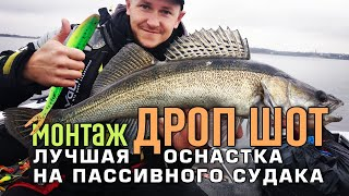 Монтаж ДРОП ШОТ - лучшая оснастка для пассивного судака
