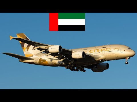 Airlines of United Arab Emirates with their fleet size (MARCH 2018 Report)