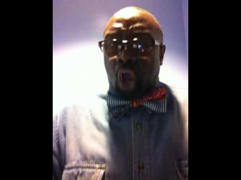 Marvin Williams sings a C.O.G.I.C. praise medley.
