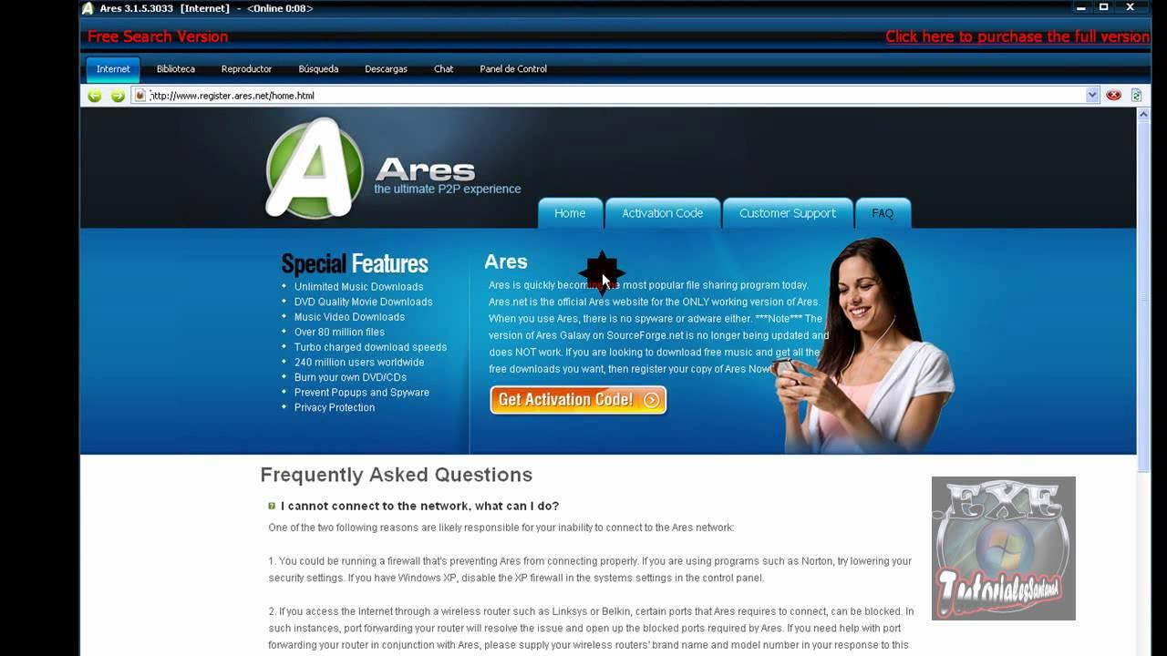 Ares 3 1 5 3033 nueva version exelente