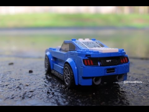 LEGO Speed Champions Ford Mustang GT - Stop Motion Speed Build ...