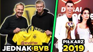 Erling Haaland piłkarzem Borussi Dortmund! Cristiano Ronaldo NAJLEPSZY w 2019 roku