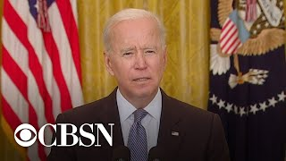 Biden announces 20 million more doses of COVID-19 vaccine will be sent abroad