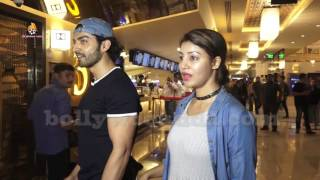 Gurmeet Choudhary & Debina Bonnerjee Spotted At PVR Icon