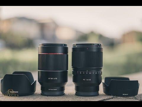 Samyang 35mm f1.4 AF vs Sony Zeiss 35mm f1.4 AF