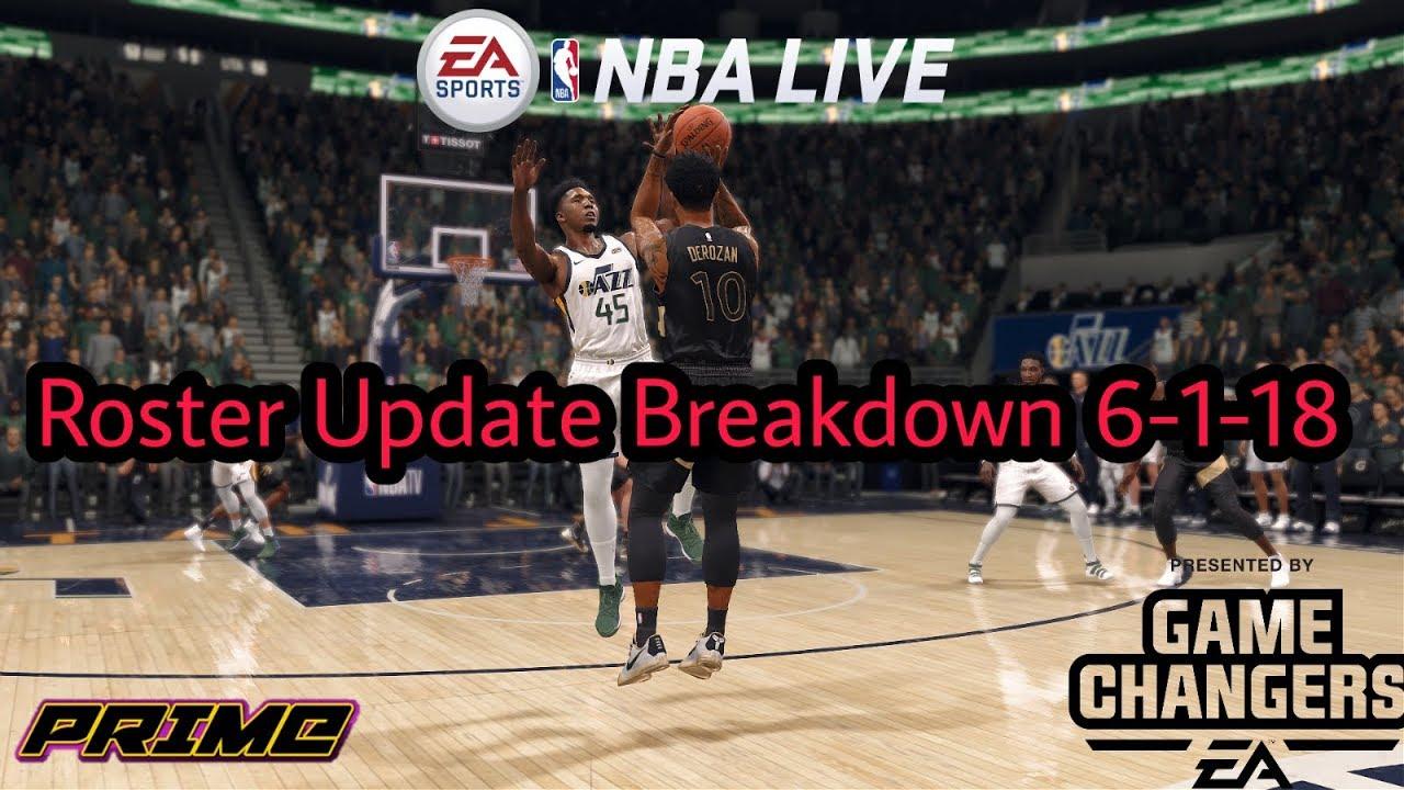 Nba Live 18 Roster Update Breakdown