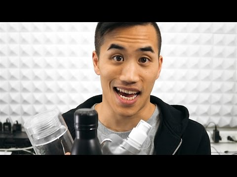 Making lo-fi hip-hop with water bottles | Andrew Huang