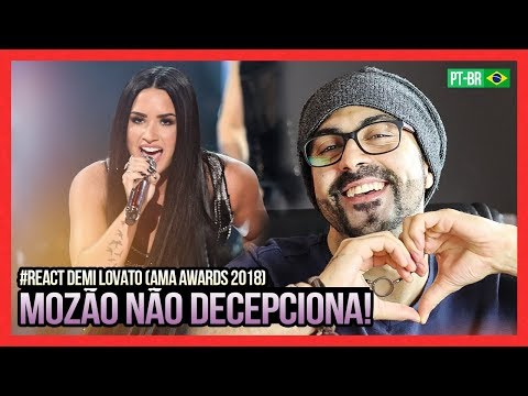 REAGINDO a Demi Lovato - Sorry Not Sorry  From The  American  Awards