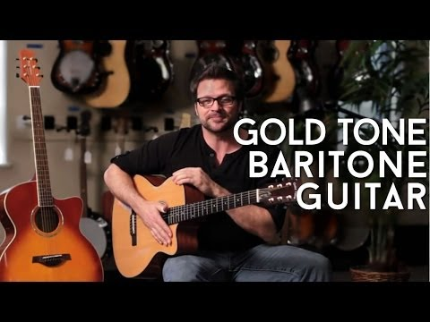 GBG Baritone Guitar by Gold Tone