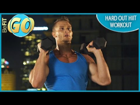 Hard Out HIIT Workout for Fat Loss: 10 Mins- BeFiT GO