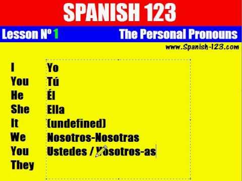 Spanish personals