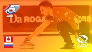 Canada v Russia - Quarter-final - World Mixed Doubles Curling Championship 2019
