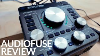 ARTURIA AUDIOFUSE DETAILED REVIEW - IS IT THE BEST AUDIO INTERFACE OF 2017?