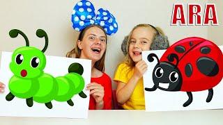 Ulya وأمي الأطفال متعة اللعب