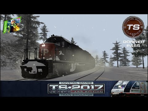 TS2017 - #4 - Donner Pass: Southern Pacific Route Add-On - Cold Play 3/4