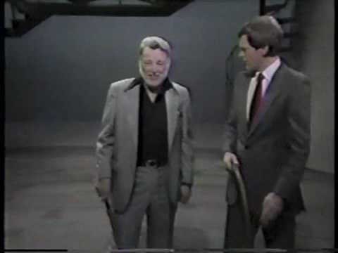 Lash La Rue on Late Night, February 16, 1984