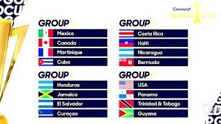 Así quedaron DEFINIDOS los GRUPOS para la #CopaOro2019