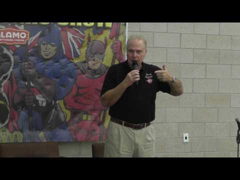 Dallas Comic   2017 February  Gil Gerard Buck Rogers in the 25th Century