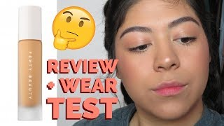 FENTY BEAUTY FOUNDATION REVIEW + WEAR TEST!!