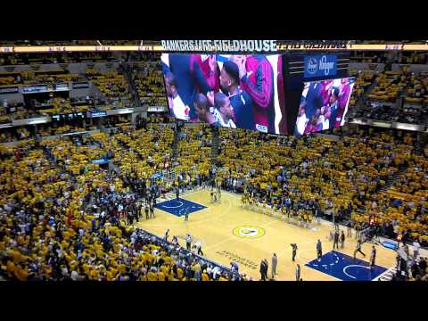 Heat-Pacers 2014 ECF Game 1 Intros 5-18-14
