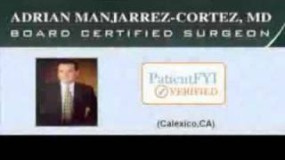 Best Cosmetic Surgeons in CALEXICO, CA: PatientFYI -- Verified (Clinica Dr. Manjarrez)