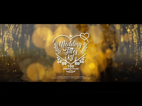 wedding-titles-kit---100-titles-|-after-effects-template