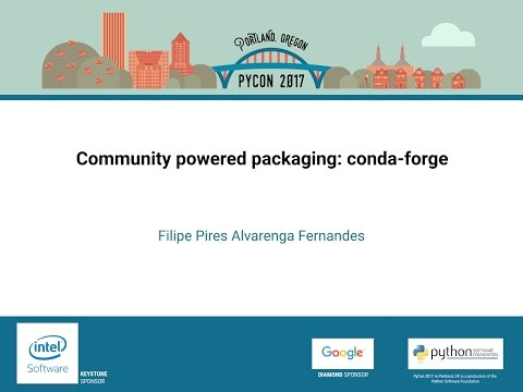 Image from Community powered packaging: conda-forge