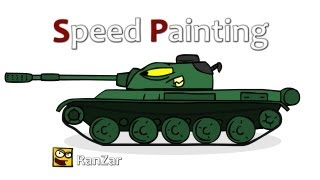 Speed Painting. RanZar. Рандомные Зарисовки.