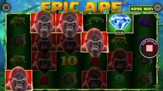 EPIC APE! Buffalo blitz sister!