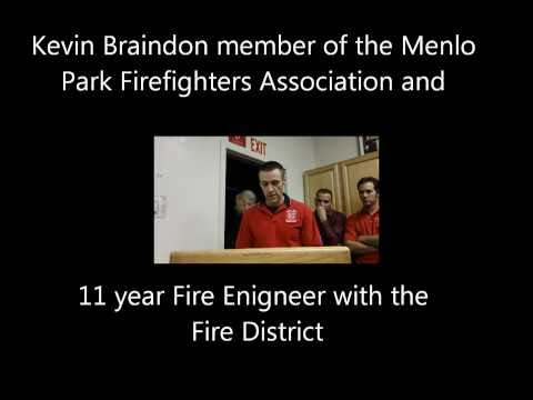 Menlo Park Fire Engineer Kevin Brandon at Fire Board Meeting 14DEC10 (Without letter overlay).wmv