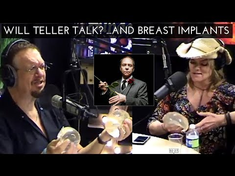 Will Teller Ever Speak In A ? ...And Missi Pyle Removes Breast Implants