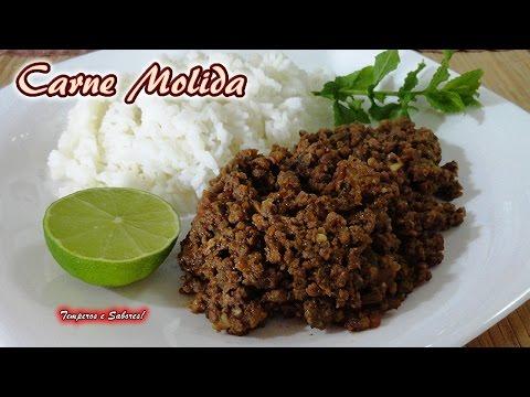 CARNE MOLIDA receta rápida y fácil, especial para rellenos y para comer como quieras
