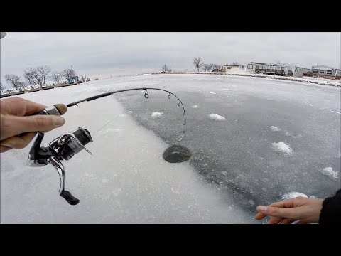 Ice Fishing NEW LAKES For Pike And Big Perch