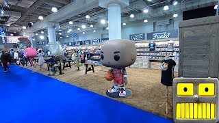 New York Toy Fair 2019 Full Funko Booth Tour Funko Pop Vinyl Figures Collection Video