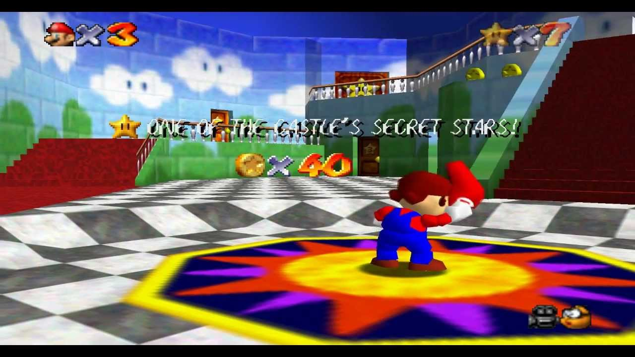 Super Mario 64 Quick Rinse Thank You So Much For Playing My