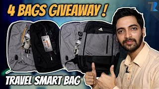 The Most Underrated Smart Travel Bag - Hands On & 4 Bags GIVEAWAY!