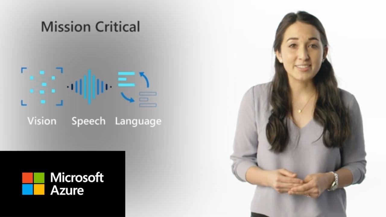 An introduction to Microsoft Azure AI   Azure AI Essentials
