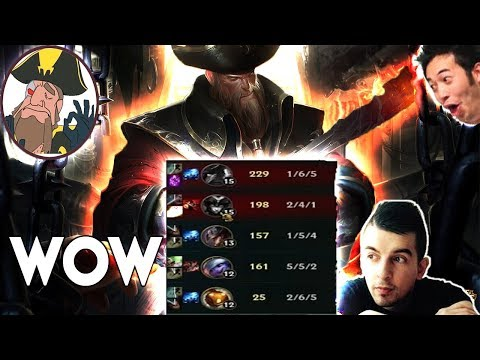 Tobias Fate - GREATEST COMEBACK WITH GROSS GORE Stay Positive! | League of Legends