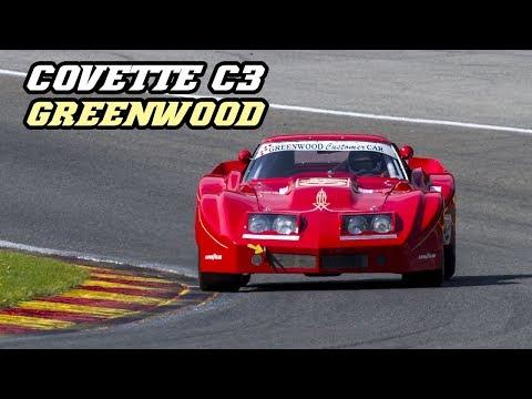 1977 Corvette C3 Greenwood - big 427 cu/in V8 scream